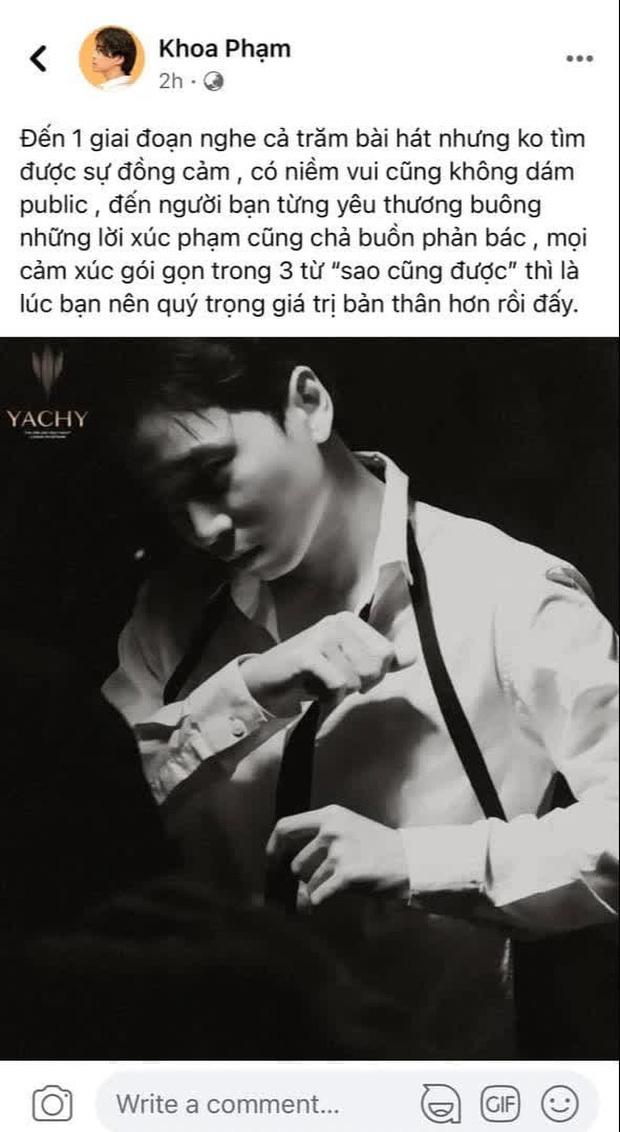 """Netizen gọi tên Wowy khi Karik ẩn ý về việc bị một người bạn từng yêu thương buông lời xúc phạm, """"Lão Đại"""" đáp trả ra sao?"""
