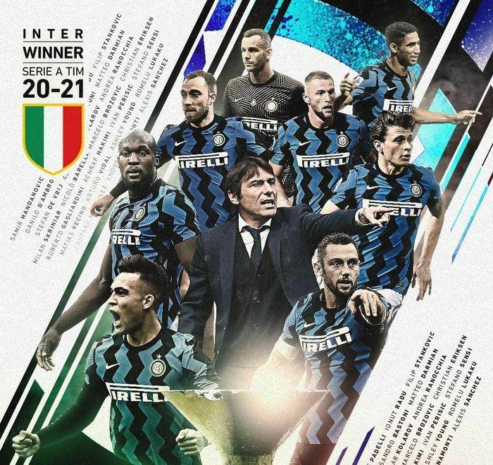 """Inter Milan từ """"cút đi Conte"""" đến vô địch Serie A"""
