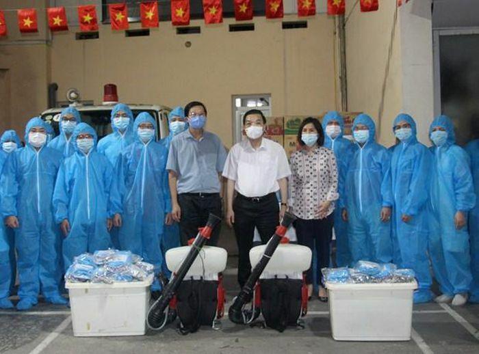Ngành y tế Hà Nội chi viện tỉnh Bắc Giang phòng, chống dịch COVID-19