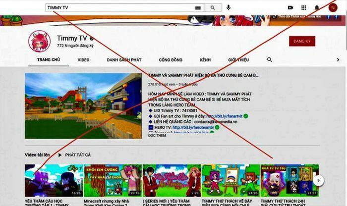 Kênh Timmy TV bị phạt 15 triệu đồng vì đăng tải nội dung mê tín dị đoan