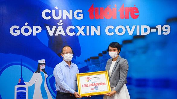 """Hơn 10,3 tỉ đồng """"Cùng Tuổi Trẻ góp vắc xin COVID-19"""""""
