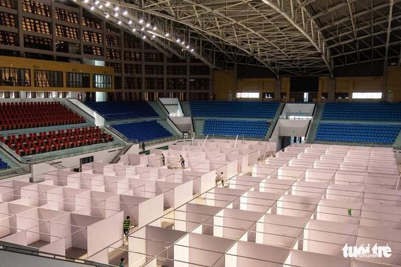 Hơn 500 bệnh nhân COVID-19 được chuyển đến Bệnh viện dã chiến số 2 Bắc Giang