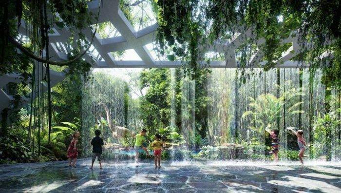"""Dubai: Mang cả một khu rừng nhiệt đới vào khách sạn """"sang chảnh"""" bậc nhất"""