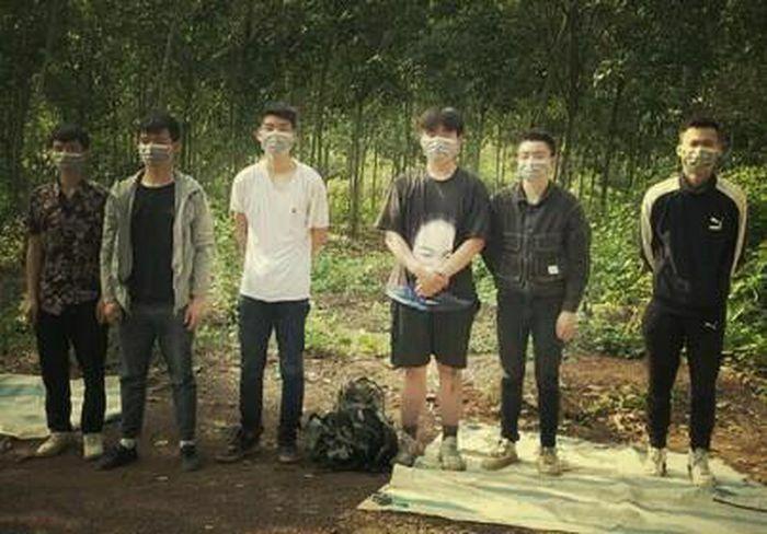 Phát hiện 6 người Trung Quốc nhập cảnh trái phép định vượt biên sang Campuchia