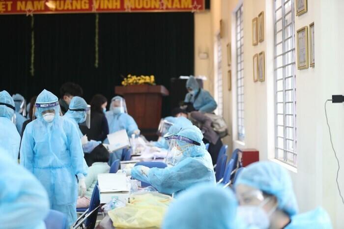 Hà Nội: Ghi nhận thêm 7 F1 thuộc chùm ca Times City dương tính với SARS-CoV-2