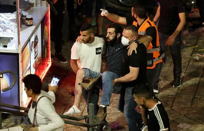 """""""Bộ Tứ"""" Trung Đông quan ngại về tình trạng bạo lực ở Jerusalem"""