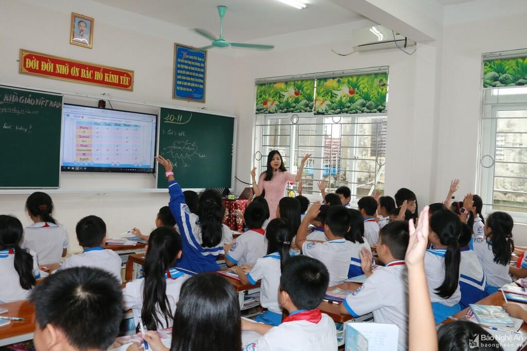 Trường THCS Đặng Thai Mai (TP. Vinh) tuyển thẳng học sinh có chứng chỉ tiếng Anh quốc tế