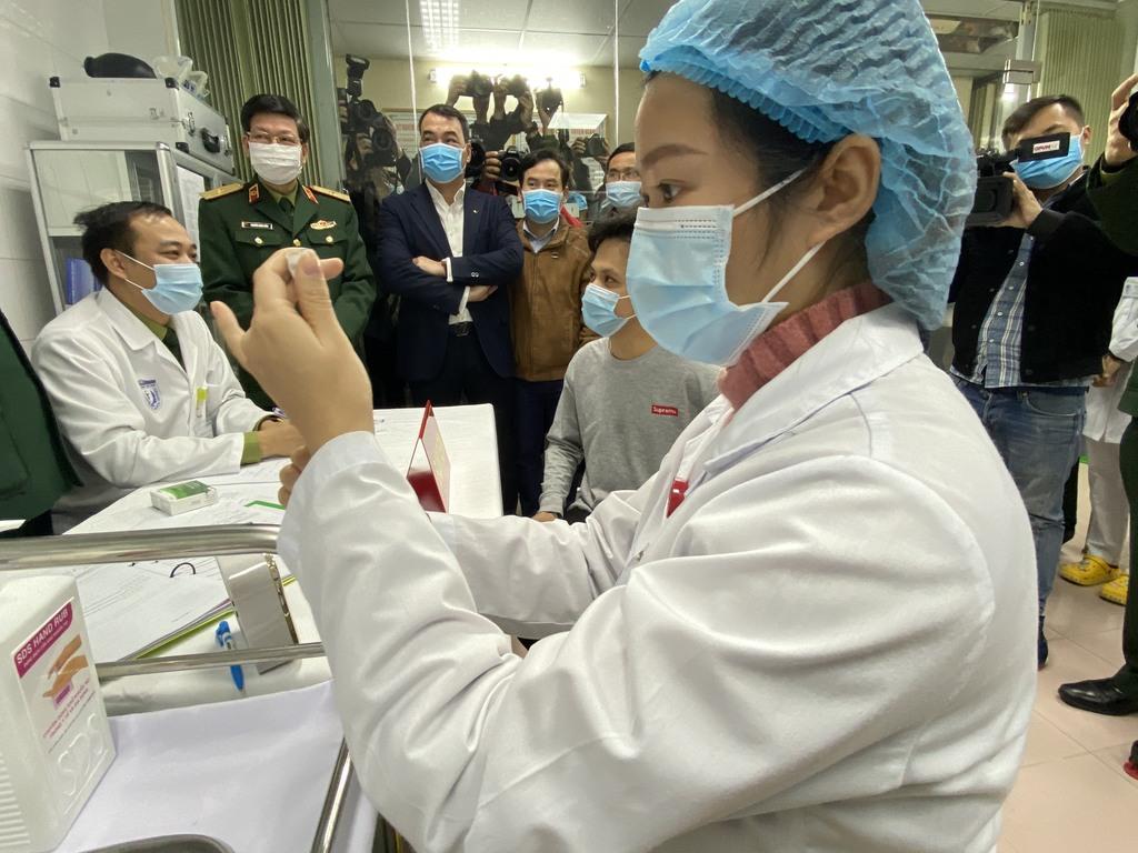 Sáng 12/5: Hơn 887.700 người Việt Nam đã tiêm vắc xin phòng COVID-19