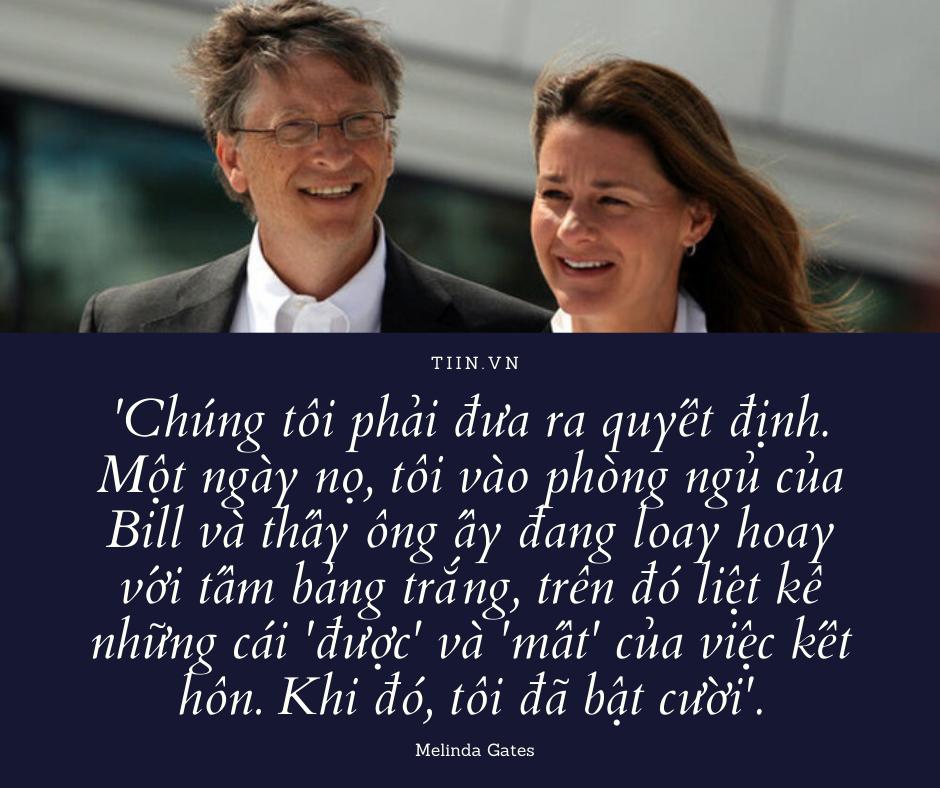Loạt câu nói 'cực sến' của Bill Gates – 'tỷ phú rửa bát' dành cho vợ: Ngôn tình nào rồi cũng vỡ tan thôi… - ảnh 1