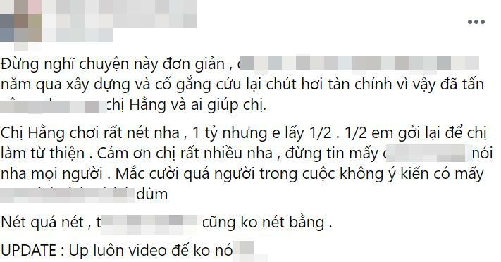 Profile đỉnh chóp của thanh niên 'ẵm ngon' 1 tỷ từ bà Phương Hằng