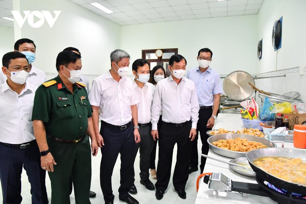 Tiền Giang ghi nhận 2 ca dương tính SARS-CoV-2trong khu cách ly