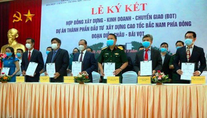 Dự án PPP thứ hai của cao tốc Bắc – Nam chính thức ký hợp đồng