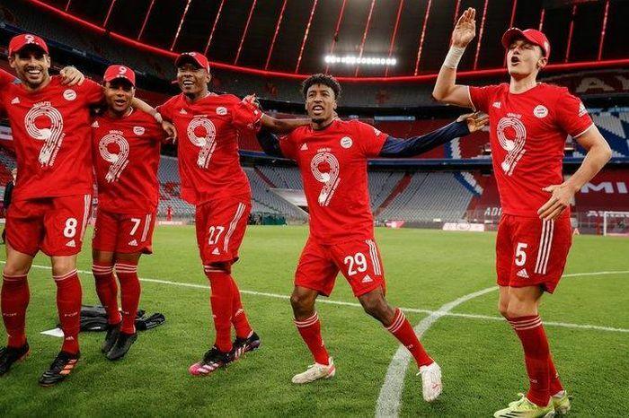 Hành trình lên ngôi vô địch Bundesliga thứ 9 liên tiếp của Bayern Munich