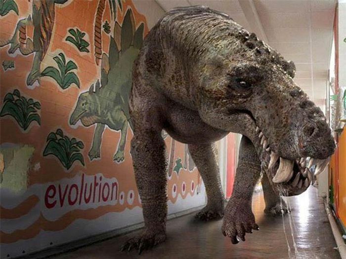 Top 10 loài sinh vật đáng sợ nhất thời tiền sử