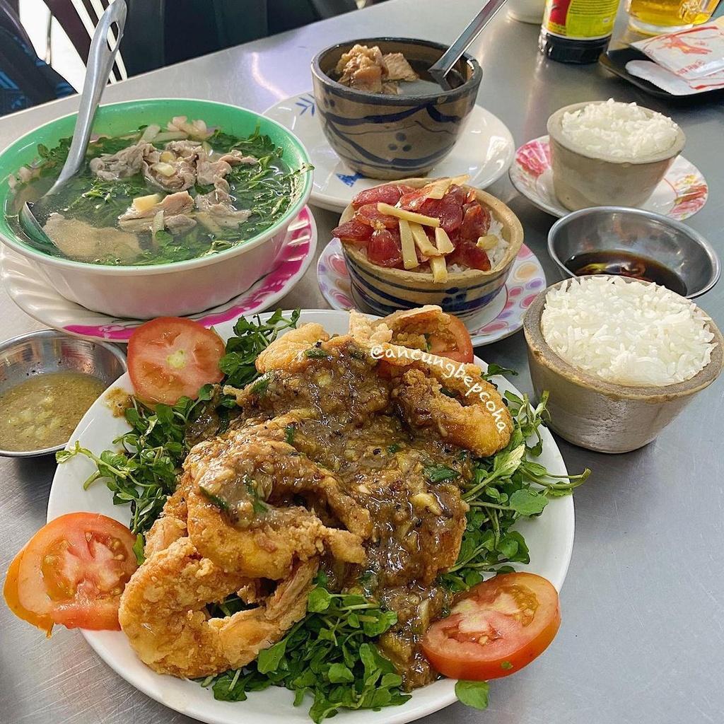 4 tiệm cơm ngon nức tiếng ở TP.HCM