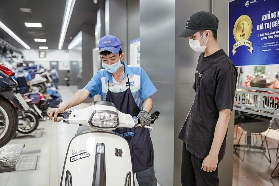 Piaggio Việt Nam triển khai 2 dịch vụ sau bán hàng cho sản phẩm Piaggio và Vespa