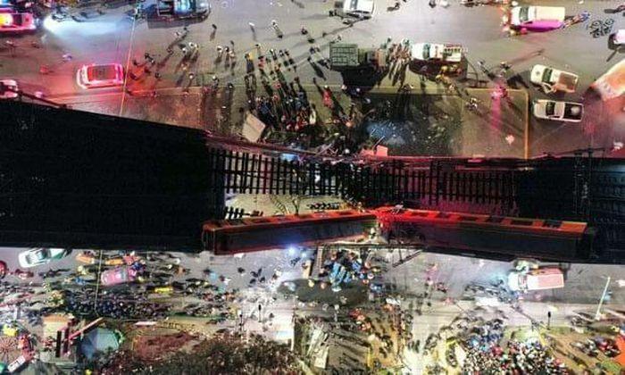 Sập cầu tại thủ đô Mexico: Con số thương vong tăng nhanh