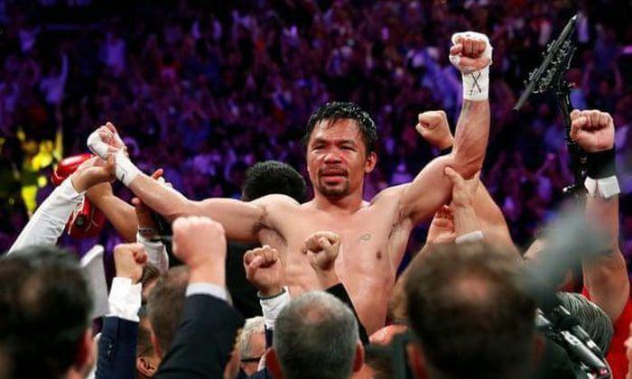 Võ sĩ Manny Pacquiao tái xuất