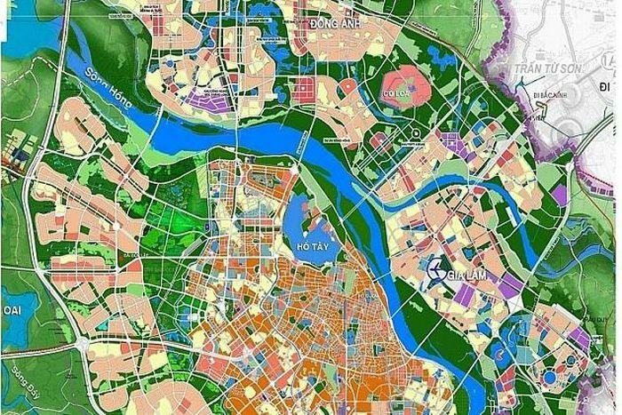 Lập điều chỉnh tổng thể Quy hoạch chung xây dựng Thủ đô Hà Nội