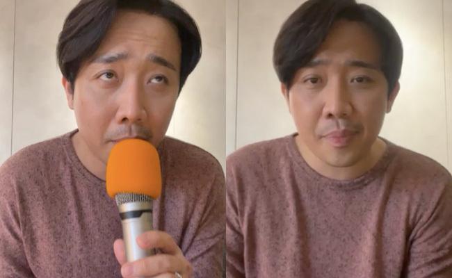 Trấn Thành livestream nói về Running Man, còn dàn cast mới thì tụ họp thế này, Lan Ngọc làm nũng sau lưng Karik?