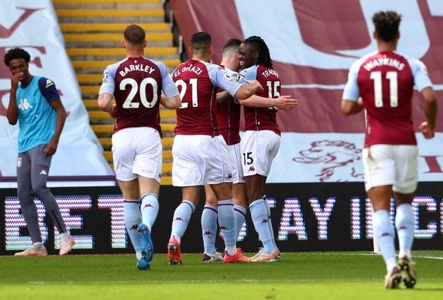 Aston Villa 1-0 Man Utd (hiệp 1): Đội khách tấn công áp đảo