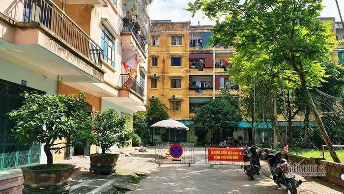 Phong tỏa tầng 1 chung cư ở Thanh Hóa nơi có BN 3091 mắc Covid-19