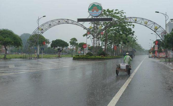 Thành phố Hà Nội giảm mưa, trời mát