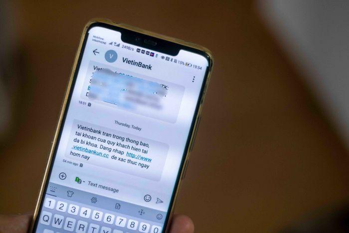 Người dùng VietinBank lại nhận SMS lừa đảo từ đầu số ngân hàng