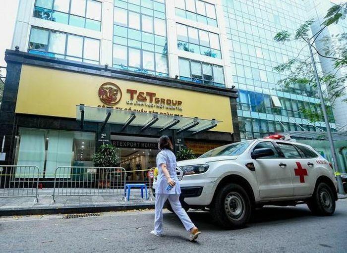 Hà Nội phát hiện thêm 3 người làm tại tòa nhà Công ty T&T dương tính với SARS-CoV-2