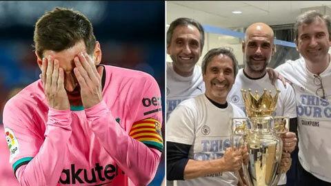 Man City vô địch, Barca bị réo tên vì 'hủy hoại' Messi