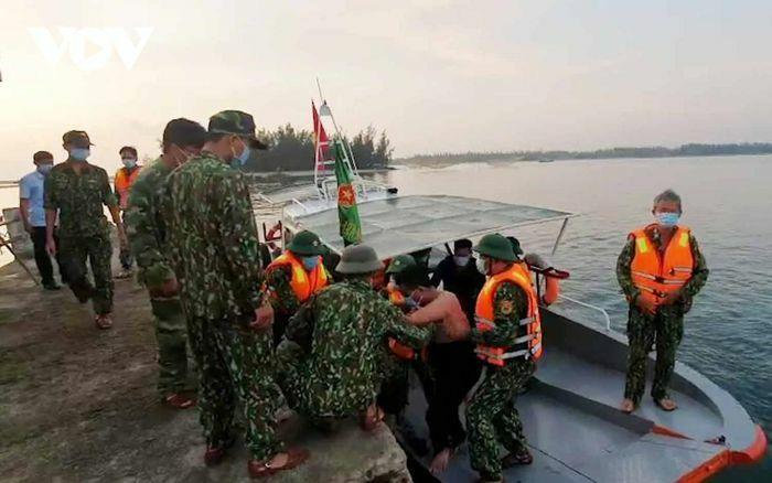 Xác minh tàu vận tải đâm chìm tàu cá ngư dân Quảng Nam