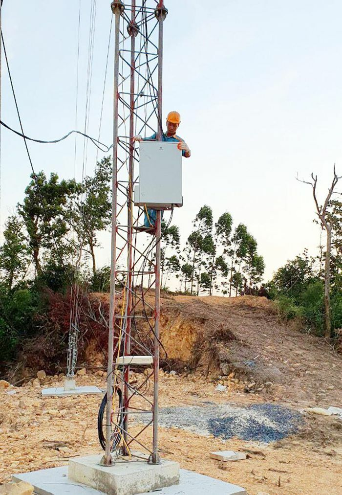 Viettel triển khai 14 trạm phủ lõm sóng di động tại Bình Liêu