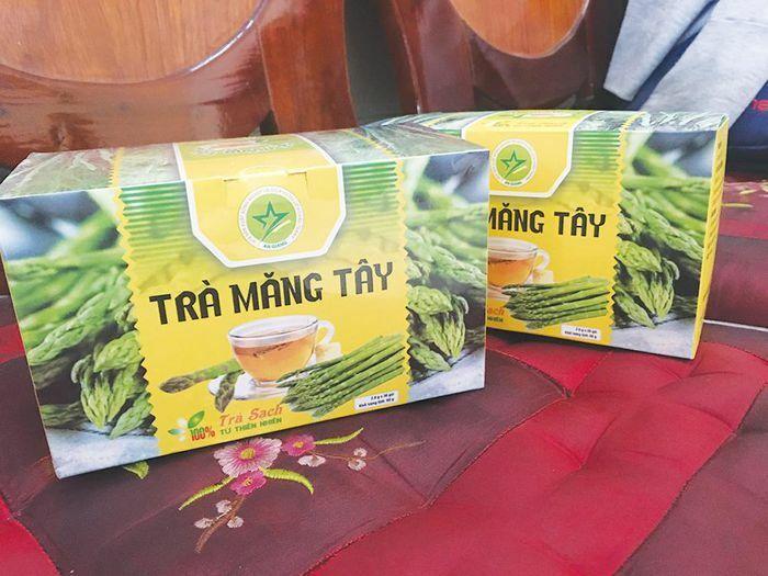 Hướng đến sản phẩm OCOP cho trà măng tây