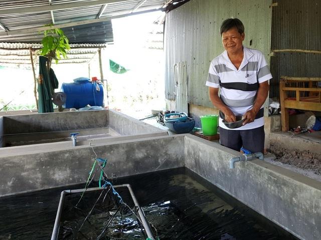 Nông dân Cần Thơ làm giàu từ nuôi lươn giống không bùn