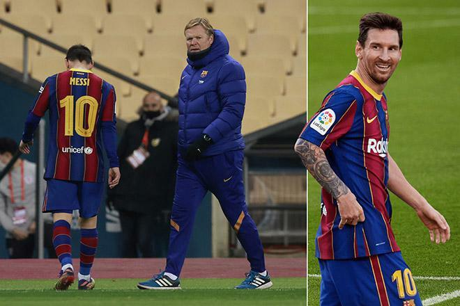 Messi mâu thuẫn với HLV Koeman: Sếp lớn tính sa thải, Pep mới thay thế