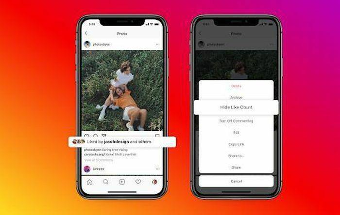 Facebook và Instagram có thêm tính năng ẩn số lượt thích, người dùng thêm quyền kiểm soát
