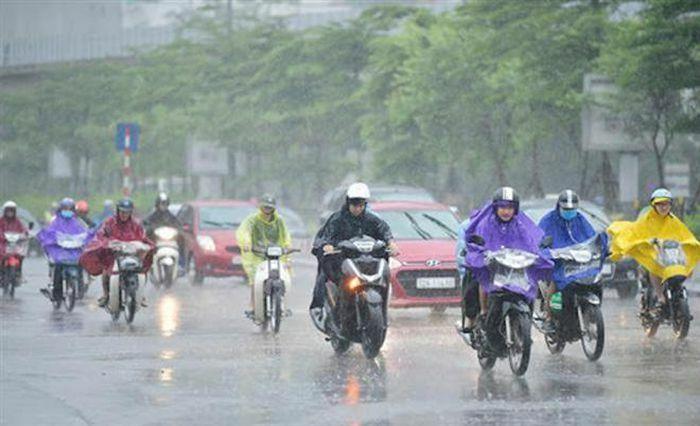 Tuần tới Bắc Bộ đón mưa dông diện rộng, chấm dứt nắng nóng