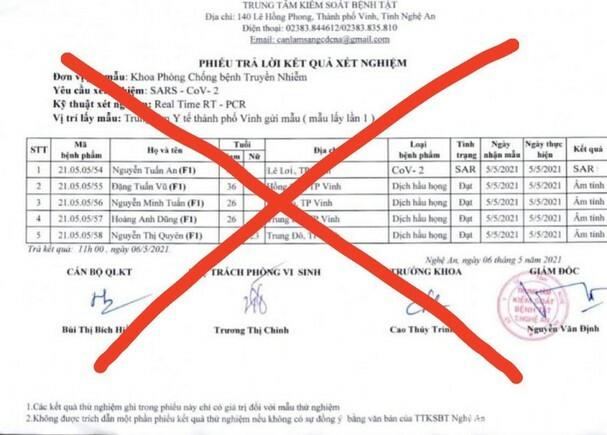 Đưa tin sai về dịch COVID -19, hai người ở Nghệ An bị triệu tập