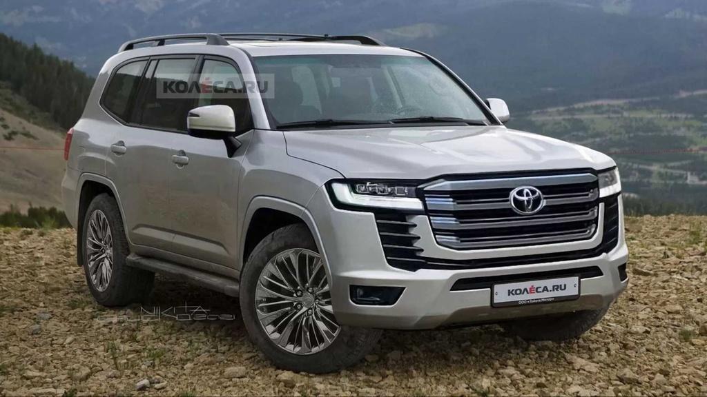 Toyota Land Cruiser 2022 sẽ có 2 tùy chọn động cơ