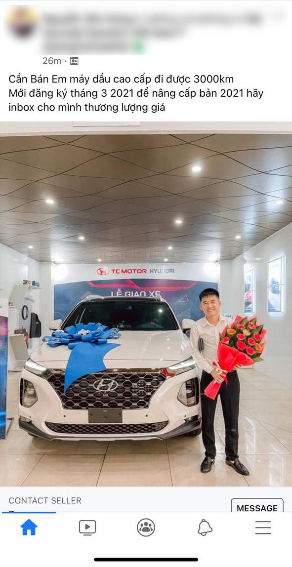 """Mê Hyundai Santa Fe mới, con trai bà Tân Vlog bán luôn xe vừa mua 2 tháng để """"lên đời"""" dù mới chạy 3.000km"""