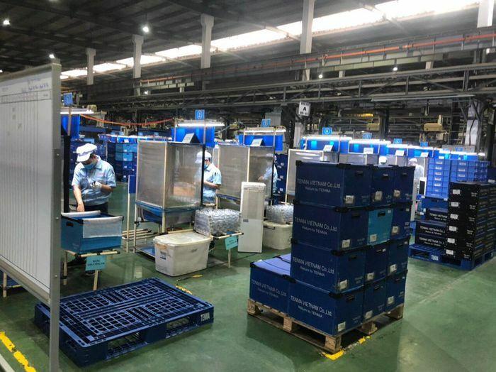 Bắc Giang tổ chức lại hoạt động sản xuất cho 8 DN trong khu công nghiệp