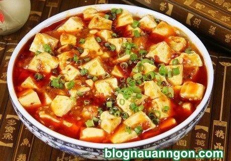 Tự làm món đậu phụ Tứ Xuyên cay nồng hấp dẫn ngày mát trời!