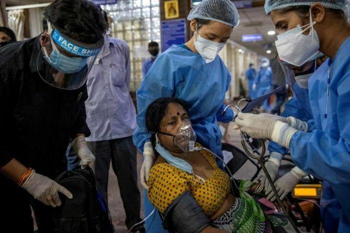 Với gần 20 triệu ca COVID-19, Ấn Độ tiếp tục nhận vật tư y tế từ châu Âu