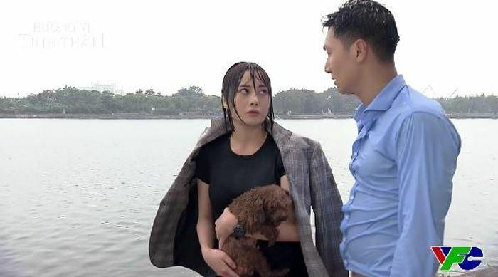 """""""Hương vị tình thân"""" tập 16: Long nhảy xuống sông cứu Nam tự tử"""