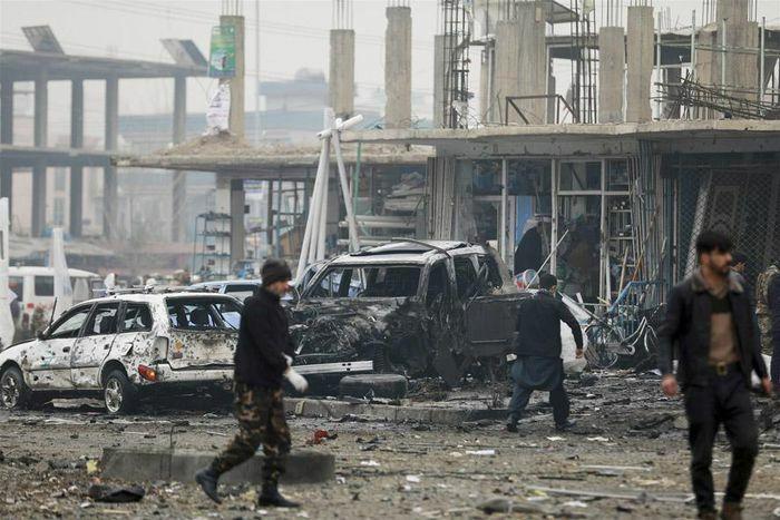 Afghanistan: Xe bom phát nổ khiến gần 100 người thương vong