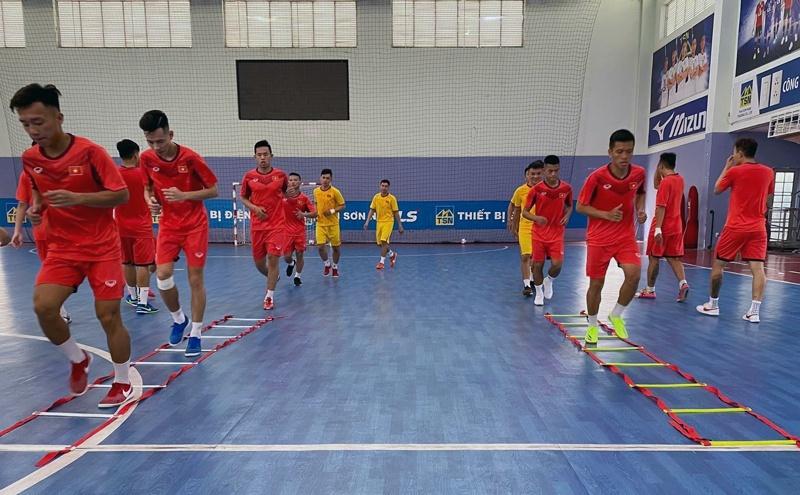 Tuyển futsal Việt Nam đấu giao hữu Iraq tại UAE