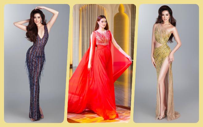 3 kiểu dáng váy dạ hội được fan nằng nặc mong muốn Khánh Vân diện trong đêm bán kết Miss Universe