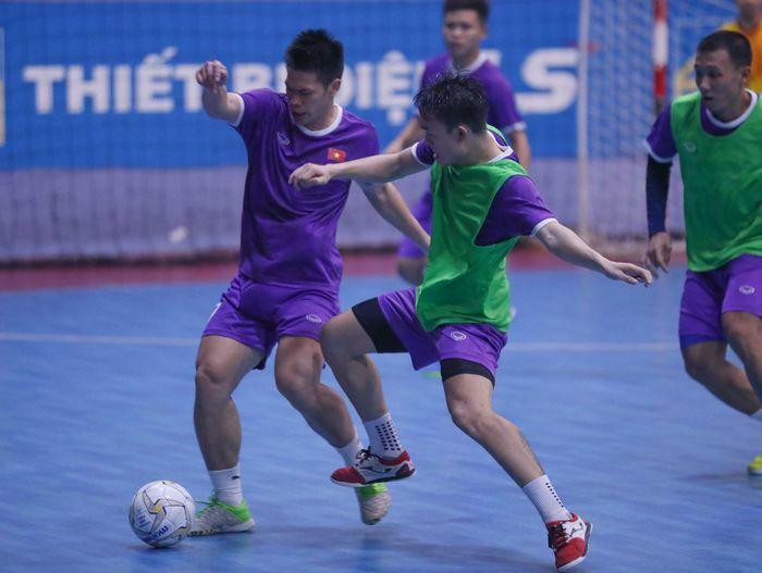 Tuyển futsal Việt Nam chốt danh sách dự play-off World Cup
