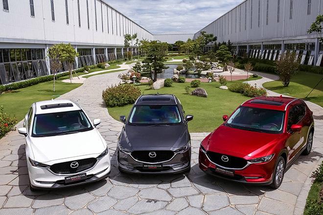 Giá xe Mazda CX-5 lăn bánh tháng 5/2021