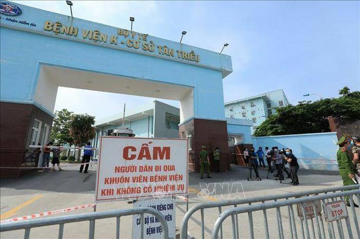 Tổ chức Công đoàn hỗ trợ đoàn viên, người lao động tại Bệnh viện K cơ sở Tân Triều
